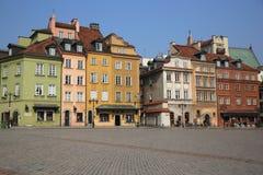 Cuadrado del castillo varsovia Fotos de archivo libres de regalías