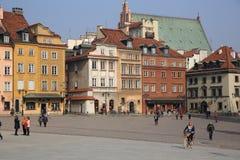 Cuadrado del castillo varsovia Imagen de archivo