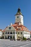 Cuadrado del consejo de Brasov (Piata Sfatului). Fotos de archivo