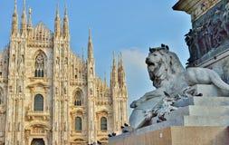 Cuadrado del Duomo Imagen de archivo