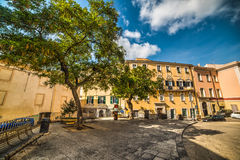 Cuadrado del Duomo en Sassari Imagen de archivo