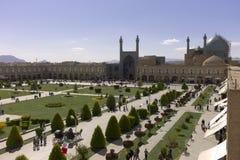 Cuadrado del imán, Isfahán, Irán Imagen de archivo