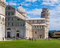 Cuadrado del milagro en Pisa Imagen de archivo libre de regalías