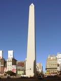 Cuadrado del obelisco de Buenos Aires Fotos de archivo libres de regalías