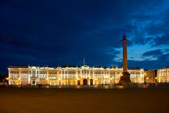 Cuadrado del palacio fotos de archivo