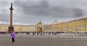 Cuadrado del palacio en el palacio del invierno imagen de archivo libre de regalías