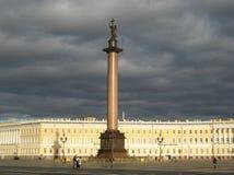 Cuadrado del palacio en St Petersburg Imagen de archivo libre de regalías
