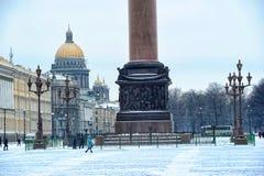 Cuadrado del palacio en St Petersburg Fotos de archivo