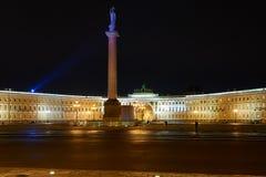 Cuadrado del palacio - St Petersburg Fotografía de archivo