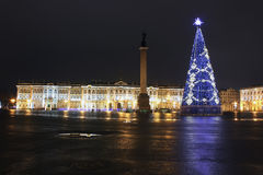 Cuadrado del palacio, St Petersburg, Rusia Fotos de archivo libres de regalías