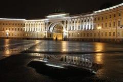Cuadrado del palacio, St Petersburg, Rusia Imagenes de archivo
