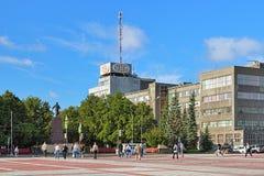 Cuadrado del 1r plan quinquenal en Ekaterimburgo, Rusia Fotos de archivo