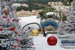 Cuadrado del ` s del casino en Mónaco Fotos de archivo libres de regalías