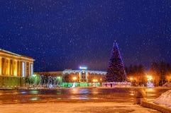 Cuadrado del St Sofía durante los días de fiesta del Año Nuevo Foto de archivo