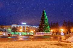 Cuadrado del St Sofía durante los días de fiesta del Año Nuevo Fotografía de archivo libre de regalías