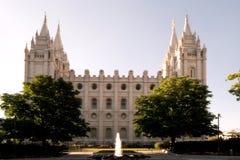 Cuadrado del templo Imagen de archivo libre de regalías