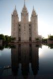 Cuadrado del templo Fotografía de archivo