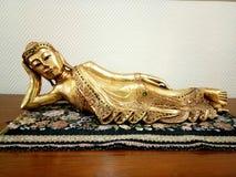 Cuadrado del templo de la iluminación de Buda Imagen de archivo