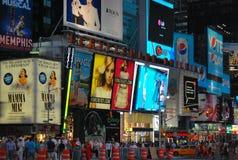 Cuadrado del tiempo en New York City Fotografía de archivo libre de regalías