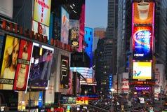Cuadrado del tiempo en New York City Foto de archivo libre de regalías