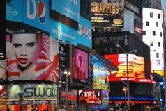 Cuadrado del tiempo en New York City Imagenes de archivo