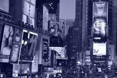Cuadrado del tiempo en New York City Imágenes de archivo libres de regalías