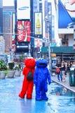 Cuadrado del tiempo, Nueva York Imagen de archivo