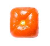 Cuadrado del tomate Fotografía de archivo libre de regalías