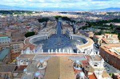 Cuadrado del Vaticano Foto de archivo