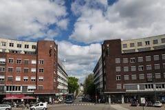 Cuadrado delante ayuntamiento en Oslo Fotos de archivo