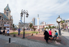 Cuadrado en Batumi Foto de archivo