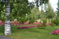 Cuadrado en Lappeenranta Imagenes de archivo