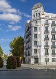 Cuadrado en Madrid Fotografía de archivo