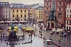 Cuadrado en Polonia Foto de archivo