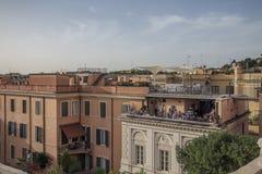 Cuadrado en Roma Foto de archivo