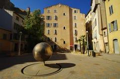 Cuadrado en Toulon Foto de archivo libre de regalías