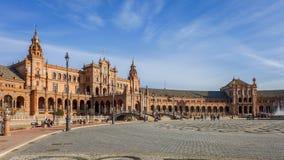 Cuadrado español - Sevilla Imagen de archivo