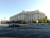 Cuadrado grande en Bucarest Imagen de archivo