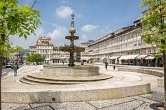 Cuadrado Guimaraes Portugal de Toural Imágenes de archivo libres de regalías