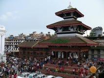 Cuadrado Katmandu de Durbar Fotografía de archivo