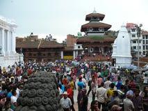 Cuadrado Katmandu de Durbar Imagen de archivo libre de regalías