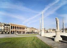 Cuadrado Padua de Valle del della de Prato Imágenes de archivo libres de regalías