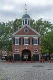 Cuadrado principal de la casa en Philadelphia Pennsylvania Fotografía de archivo libre de regalías