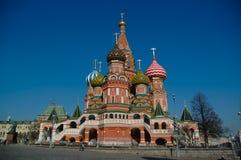 Cuadrado rojo en Moscú Fotografía de archivo libre de regalías