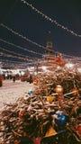 Cuadrado rojo Moscú imagen de archivo libre de regalías