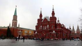 Cuadrado rojo Moscú Fotos de archivo libres de regalías