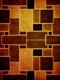 Cuadrado textured Imagenes de archivo