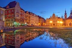 Cuadrado 02, Timisoara, Rumania de la unión fotos de archivo