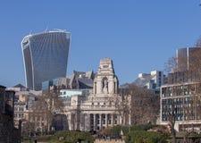 Cuadrado y ciudad de la trinidad de Londres imagen de archivo libre de regalías