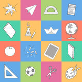 cuadrados Imágenes de archivo libres de regalías